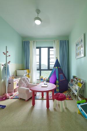 现代简约风格二居室儿童房装修效果图