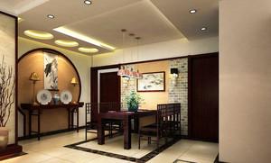 中式风格别墅餐厅装修效果图赏析