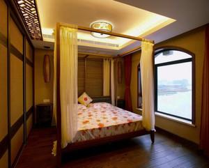 100平米中式风格卧室装修效果图赏析