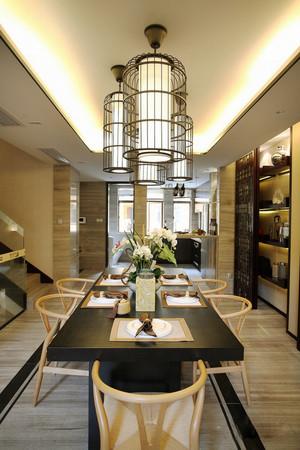 东南亚风格别墅餐厅装修效果图鉴赏