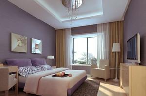 二居室都市简约风格卧室装修效果图赏析