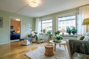 都市清新风格两居室整体装修效果图赏析