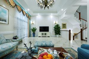 法式风格别墅整体装修效果图赏析