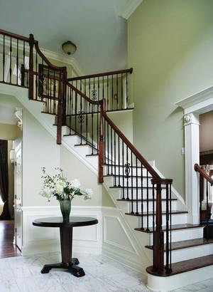 简欧风格别墅精致楼梯装修效果图赏析