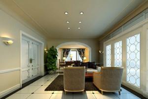 简欧风格大户型客厅装修效果图