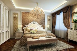 大户型简欧风格卧室装修效果图赏析