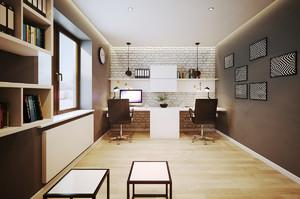 简约风格复式楼整体装修效果图赏析