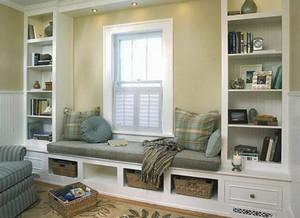 一居室简约风格飘窗装修效果图赏析