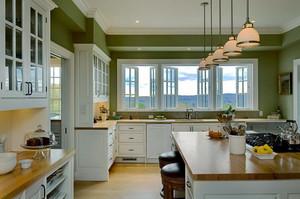 三居室欧式风格厨房装修效果图赏析