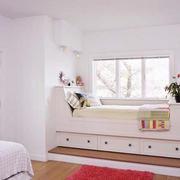 卧室简欧飘窗小户型装修