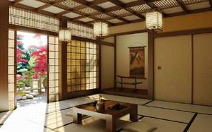 70平米日式风格时尚榻榻米卧室装修效果图