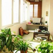 日式风格小户型阳台装修效果图赏析