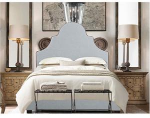 复古法式风格单身公寓卧室装修效果图赏析