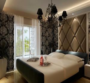 后现代风格大户型卧室装修效果图赏析