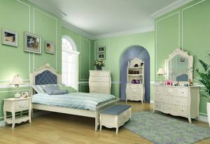 90平米简欧风格精致儿童房装修效果图赏析