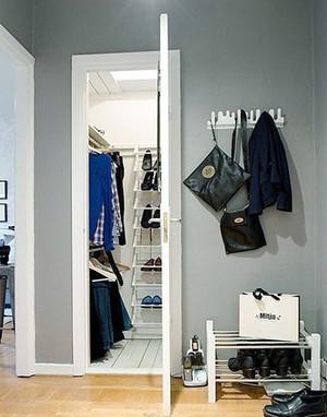 100平米简欧风格玄关橱柜设计效果图赏析