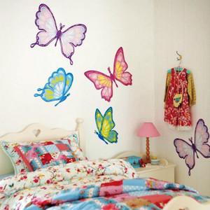 120平米简约风格儿童房墙贴设计效果图