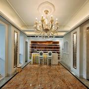 欧式风格别墅餐厅吊顶装修设计效果图赏析