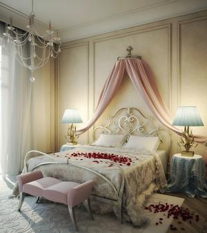 80平米欧式风格时尚卧室装修效果图赏析