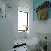 100平米现代简约风格卫生间装修效果图赏析