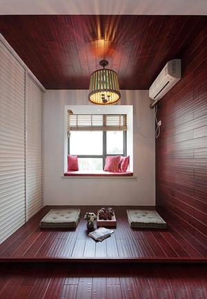 三居室现代风格卧室榻榻米装修设计效果图
