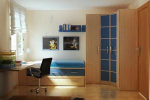 100平米现代风格男生儿童房装修效果图鉴赏