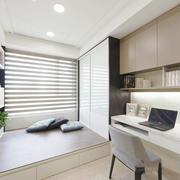 90平米现代风格书房榻榻米装修设计效果图