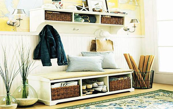 小户型现代风格玄关鞋柜设计效果图