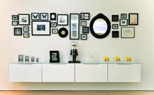 宜家风格小户型照片墙设计效果图赏析