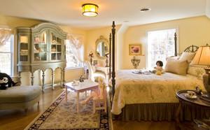欧式别墅型时尚创意女生儿童房卧室装修效果图