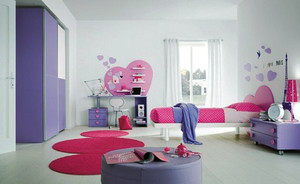 20平米现代简约风格时尚儿童房设计效果图