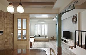 法式田园风格三室两厅装修效果图赏析