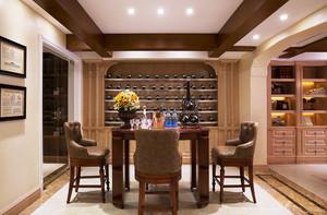 200平米别墅美式风格室内设计效果图赏析