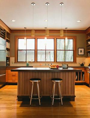 美式乡村风格时尚家庭吧台装修效果图大全