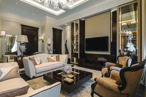 欧式风格精致别墅设计装修效果图鉴赏
