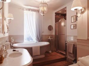 欧式风格180平米别墅设计装修效果图赏析