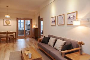 100平米日式简约风格公寓整体设计效果图