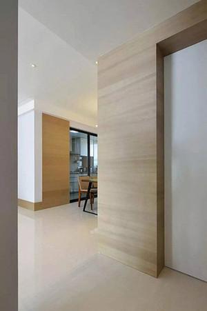 120平米现代田园风格自然舒适公寓装修效果图