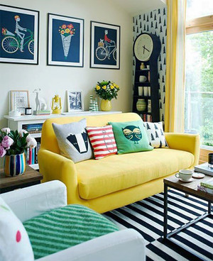现代混搭风格精致客厅沙发设计装修效果图大全