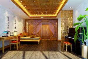 现代中式风格精致室内装修效果图赏析