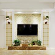 现代风格客厅电视背景装修效果图赏析