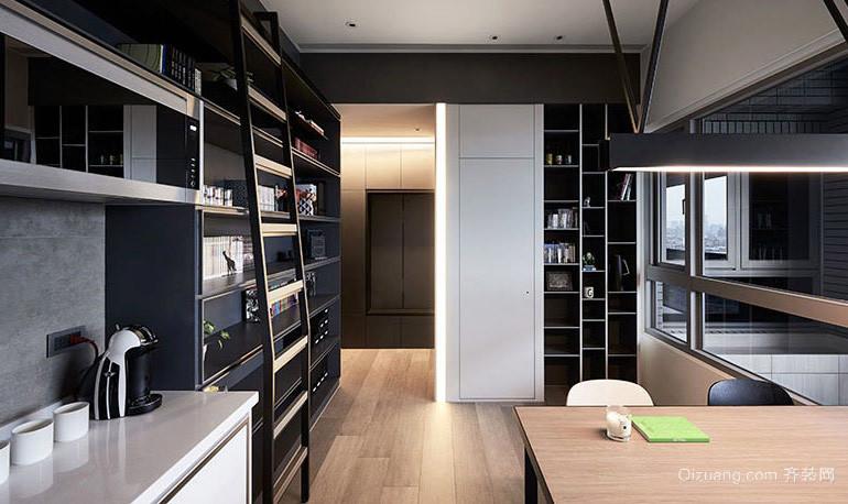 大户型现代loft风格公寓设计装修效果图