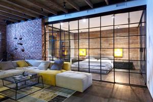 现代loft风格时尚混搭大户型装修效果图赏析