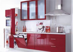 100平米韩式风格厨房橱柜设计装修效果图