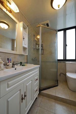 156平米美式风格精致公寓装修效果图实例