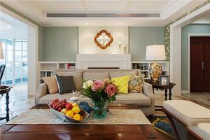 现代美式风格大户型室内设计装修效果图赏析