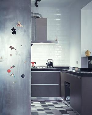 110平米现代loft风格公寓装修效果图鉴赏