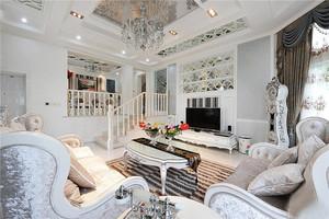 200平米欧式风格别墅室内设计装修效果图