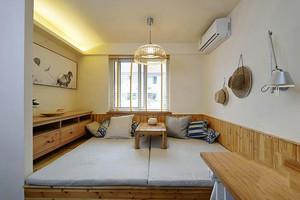 110平米日式风格自然公寓装修效果图