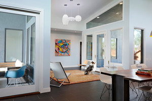 后现代风格创意客厅吊顶装修效果图赏析